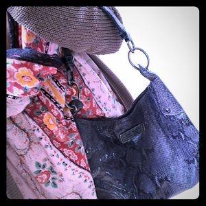 Stunning snake print handbag!